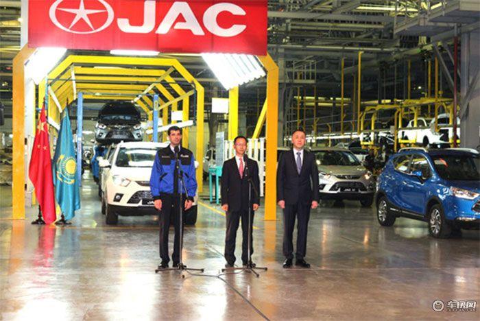 登SUV出口冠军 江淮汽车加速布局全球市场