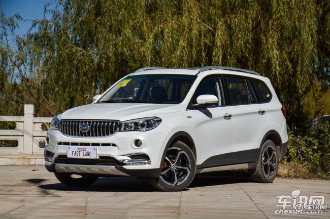 SWM斯威汽车SWM斯威X7购车优惠1.21万元