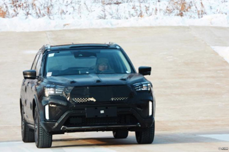 东风启辰全新小型SUV腰线图 新车年内上市