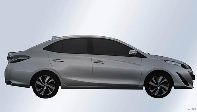 丰田YARiS L致享车型专利图曝光搭两种动力