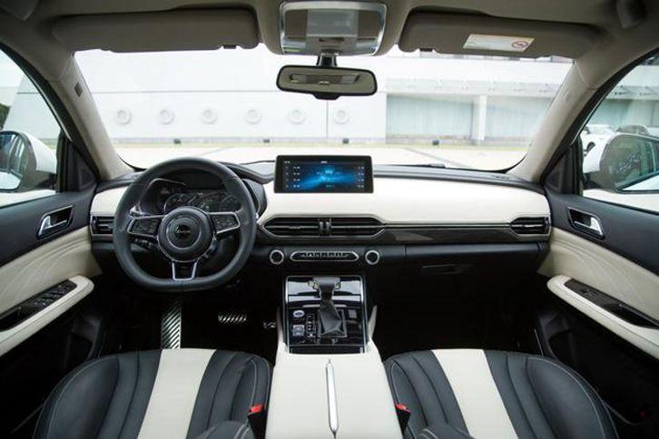 众泰第二代T600实拍图曝光 售价或6万元起