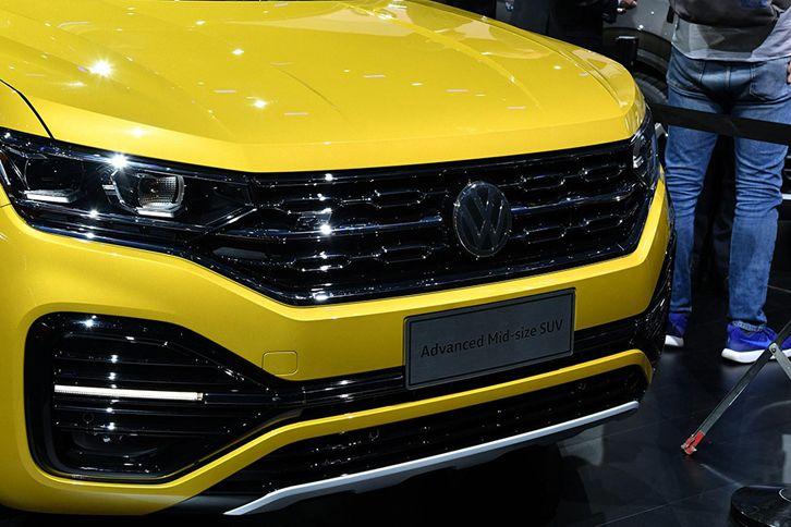 一汽-大众TAYRON将于11月上市 搭2.0T发动机