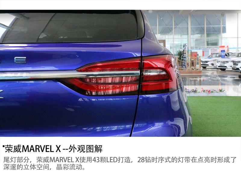 电动智能超跑SUV 荣威MARVEL X新车图解