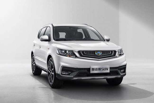 重庆远景SUV购车优惠3000元 大量现车在售
