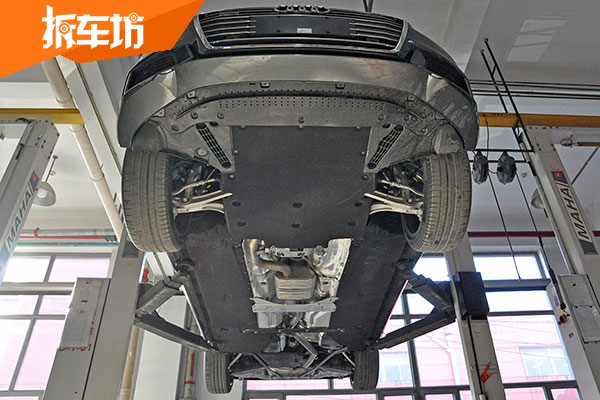 【技术讲堂】全新奥迪A6L底盘防护简析