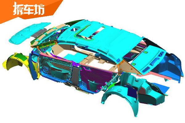 艾瑞泽GX全车声学包隔音材料覆盖20多处位置