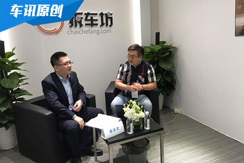 2019上海车展:长安欧尚E01项目总监单吉文