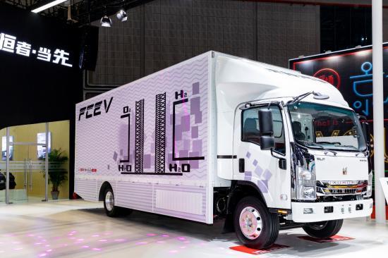 庆铃汽车与博世联合布局氢燃料电池车
