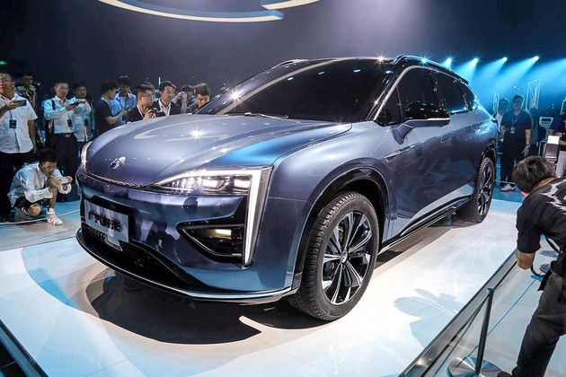 广汽蔚来新品牌HYCAN合创携首款概念车发布