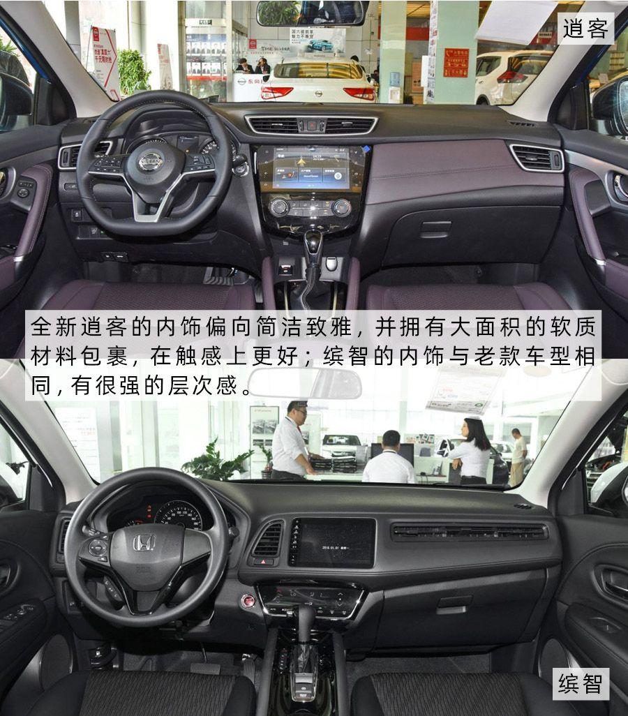 15万级城市SUV 逍客和缤智你最中意谁?