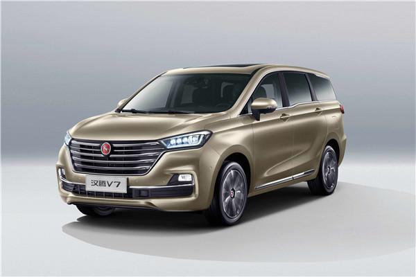 售价7.99万-13.59万 汉腾MPV V7正式上市