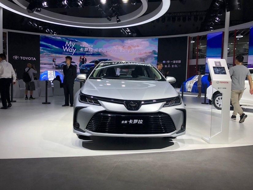 2019成都车展:一汽丰田携10余款车型亮相