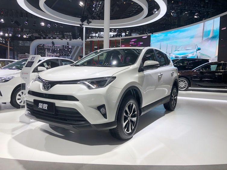 一汽丰田携多款全新产品闪耀西安国际车展