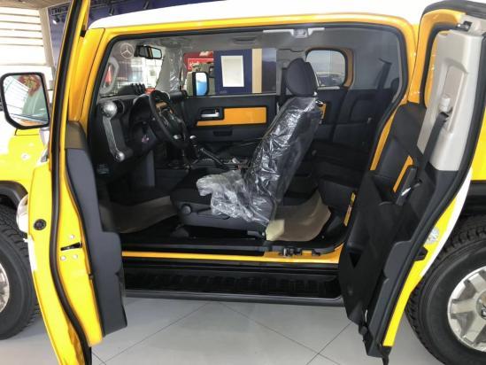 19款丰田酷路泽FJ配置和裸车价格......