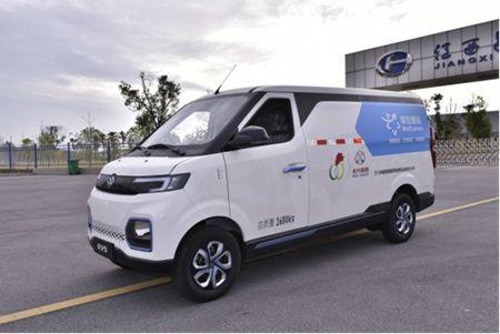 瓷博會載譽歸來:北汽EV5等新能源物流車受熱評