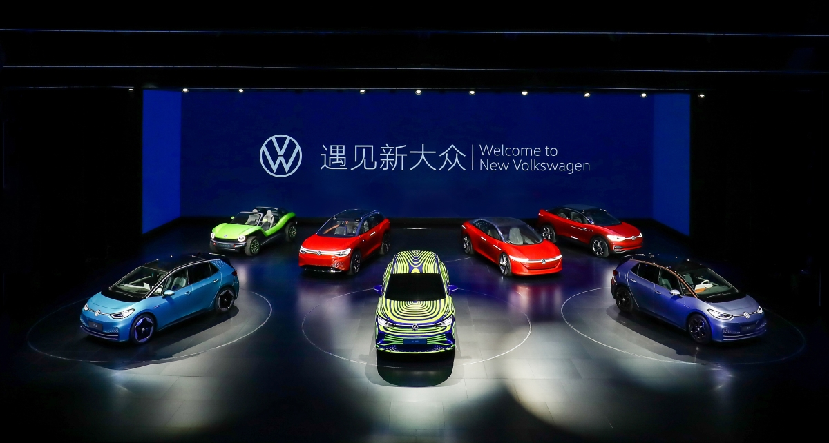 大众汽车发布全新品牌LOGO 全新小型SUV探影发布