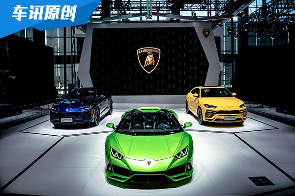 兰博基尼携Huracán EVO敞篷版和超级SUV Urus登陆广州车展