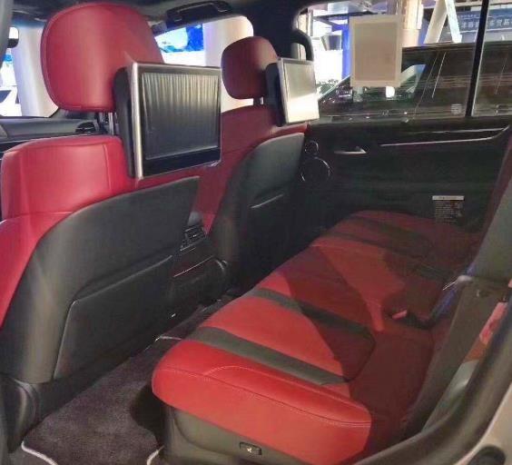 新款雷克萨斯LX570最为惹人瞩目的地方