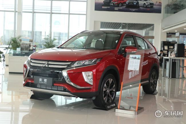 武汉广汽三菱奕歌最高优惠2万元 现车在售