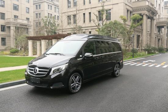 2019款奔驰v260改装商务房车新价格