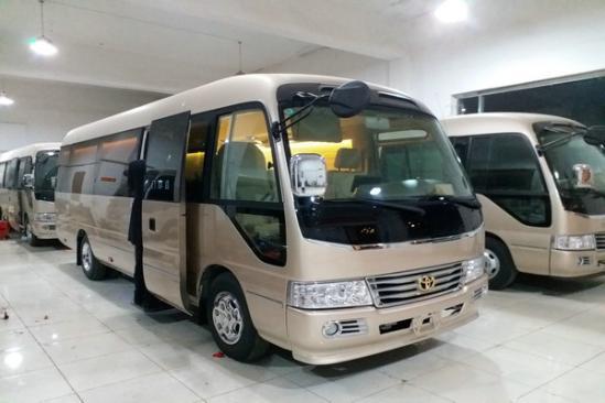 丰田考斯特12座价格 客车12座最低报价