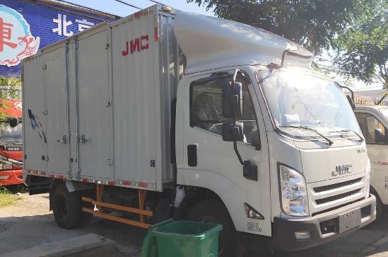 江铃顺达4.2米载货车单排 厢式 现车价格