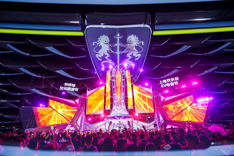 上汽荣威冠名赞助上海欢乐谷电音节 和你一起过七夕