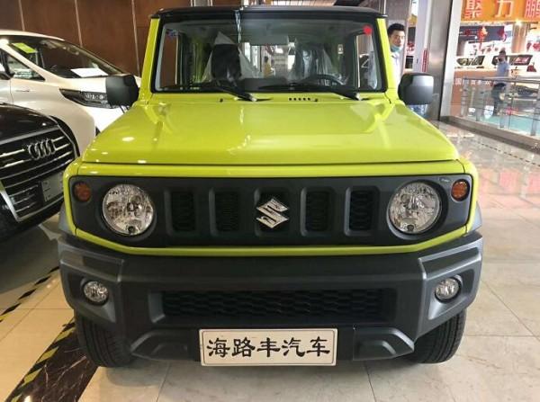 2020款铃木吉姆尼1.5L越野小钢炮特惠价_车讯网chexun.com-车讯网